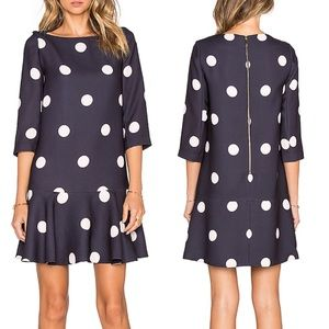 Kate Spade Revolve Spotlight Flounce Shift Dress